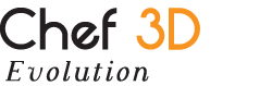 Chef3d Evolution Logo