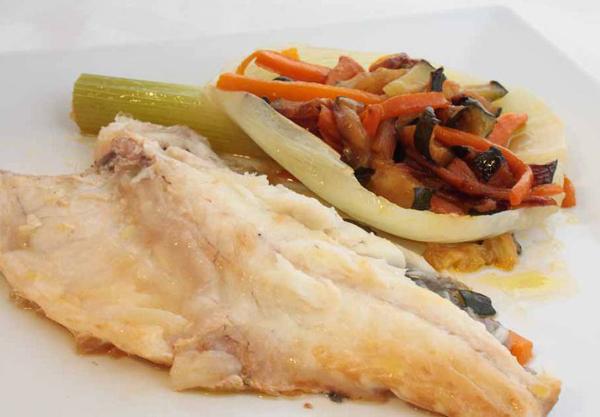 Lubina al hinojo chef3d evolution for Cocinar hinojo