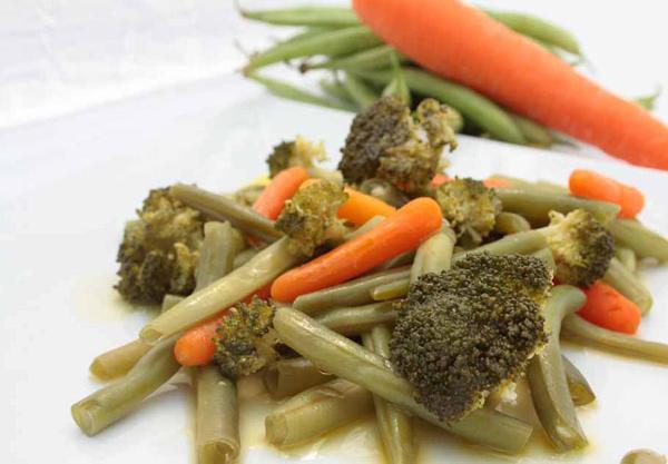 Verduras en su jugo